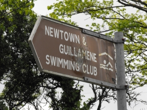 Sign To Newtown & Guillamenes