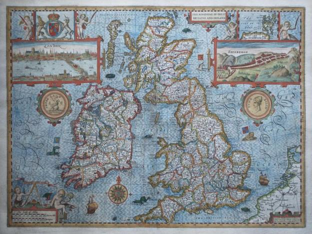 Historical-Map-Great-Britain John Speed 1610
