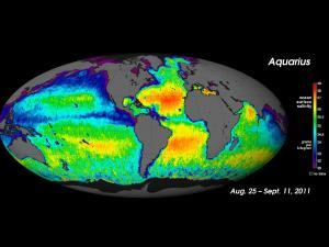 Global ocean salinity