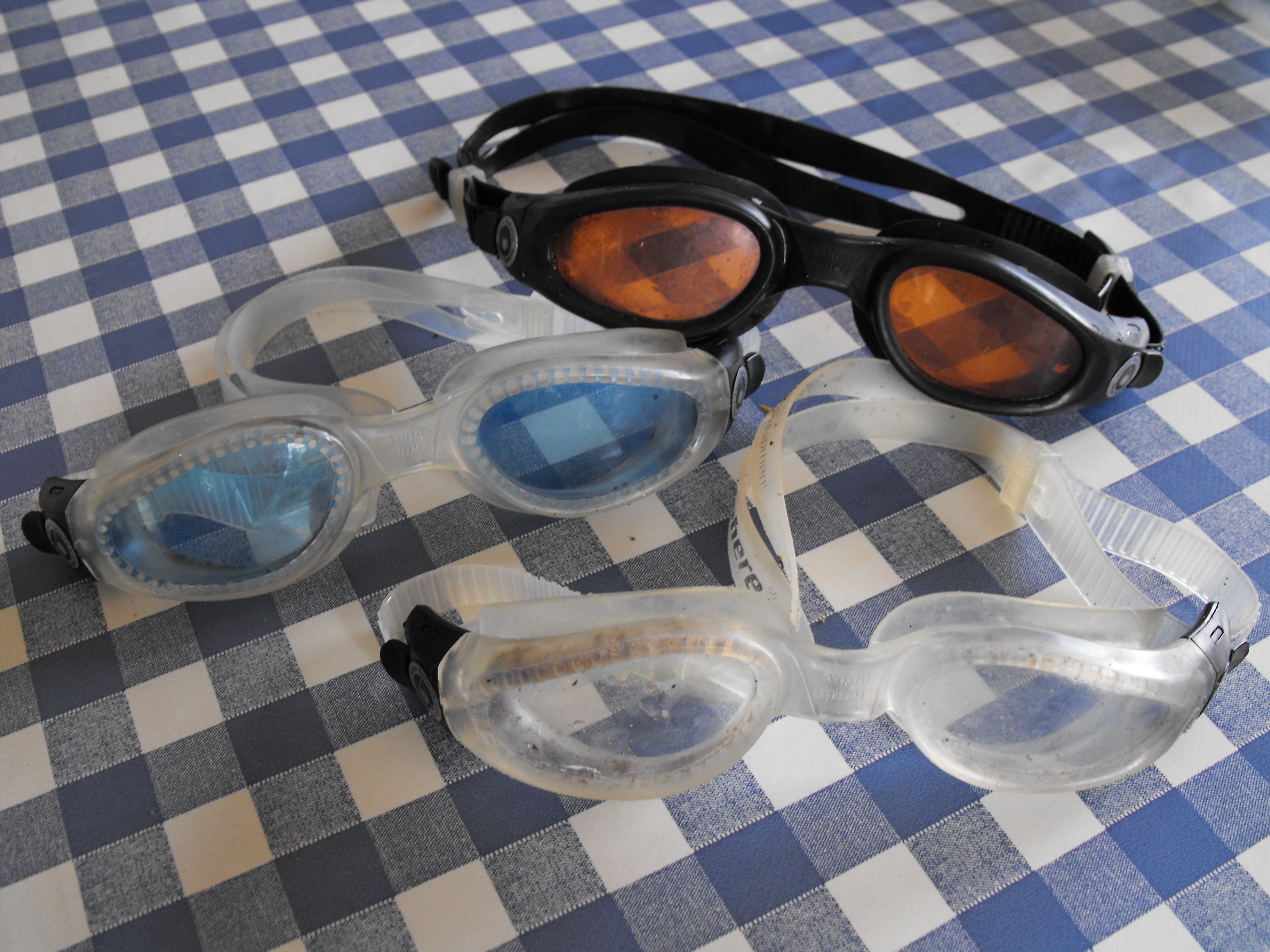 popular brand low priced latest design First open water goggles swimming review | LoneSwimmer
