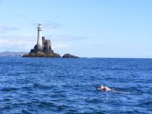 Stephen at Fastnet