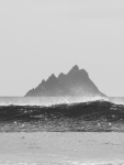 Skellig Beag from Finian's Bay