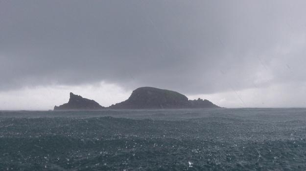 Brown's Island in the rain