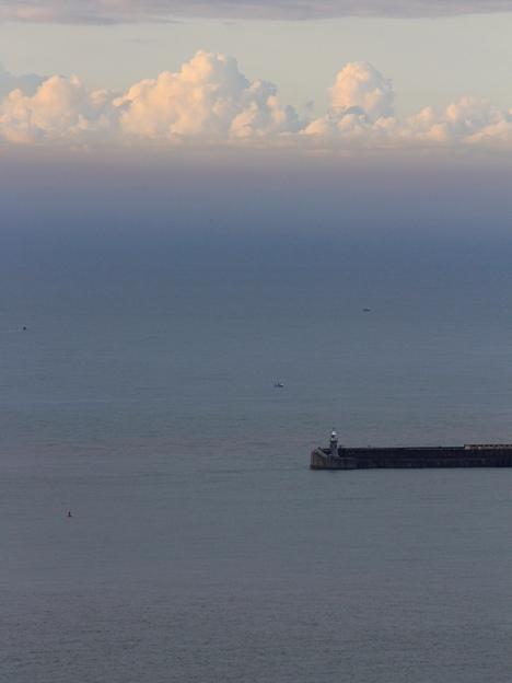 Folkestone Harbour dawn