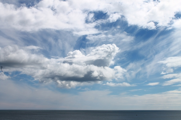 Brooding Copper Coast clouds