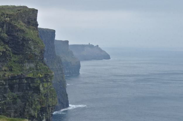 The Cliffs of Moher, (aka The Cliffs of Insanity in the Princess Bride movie)