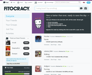 Fitocracy Feed
