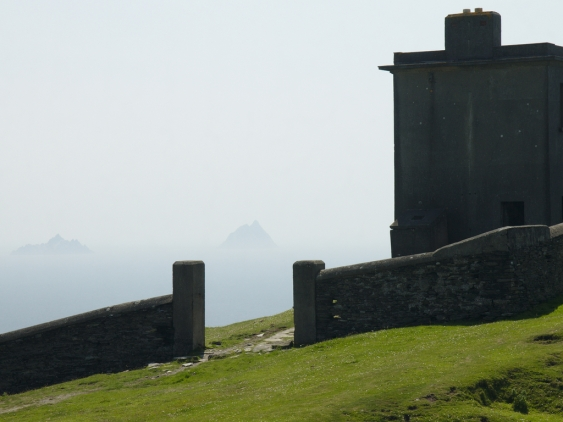 Skellig from the World War II Bray head tower.