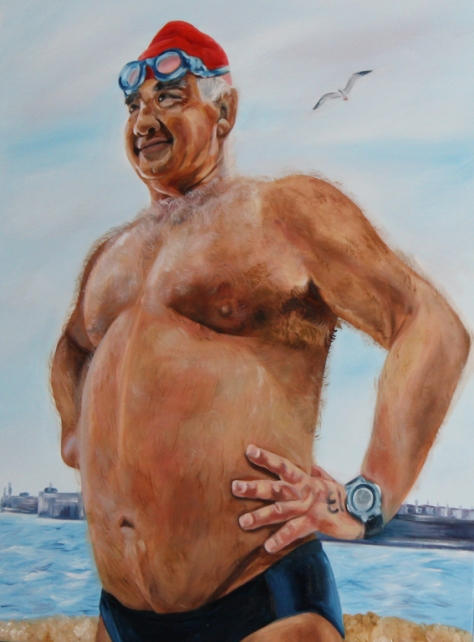 The Royal Portrait of His Majesty, King of the Channel, Secretary of CS&PF, Official CS&PF Observer, Three-time North Channel swimmer, Conqueror of the West, Emperor of the Seas. King of the Andals of the First Men, Protector of the Realm.