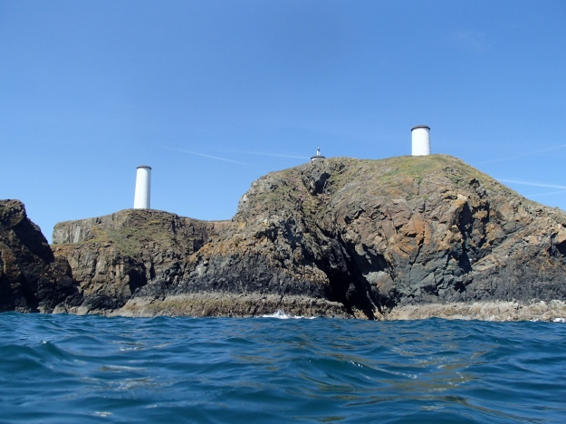 Newtown head from the sea