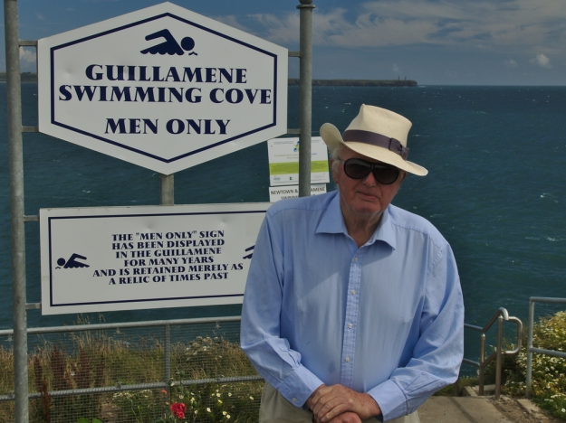 Billy Kehoe, President of the Newtown & Guillamene Swimming club.