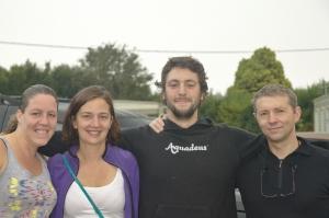 Lisa, Greta, Sylvain, Donal