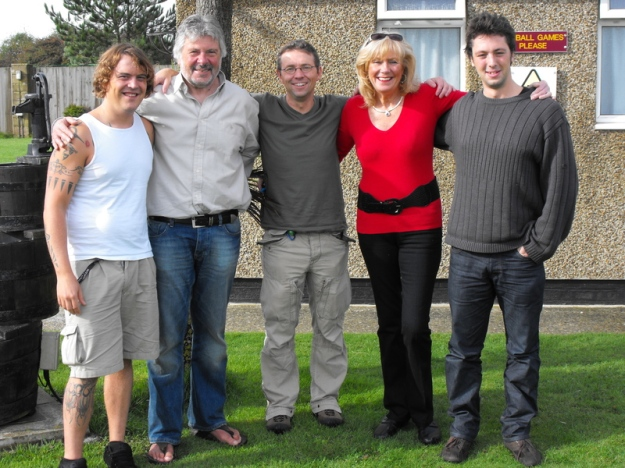Gábor, David, Donal, Eve, Sylle in 2010