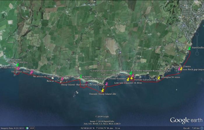 Copper Coast Bay to Breakers