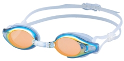 "Type 2 - View Visio ""Fully Sick""  blue frame, gold lens"