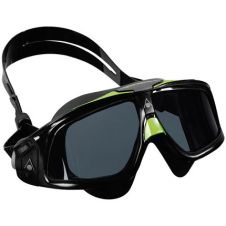 Type 4 - Aqua-Sphere-Seal-2.0-Tinted-Lens-Goggles-Swimming-Goggles-Black-Green mask