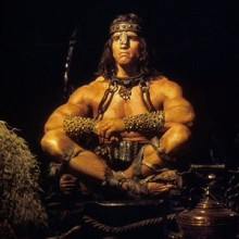 Conan The barbarian considers what is best in swimming