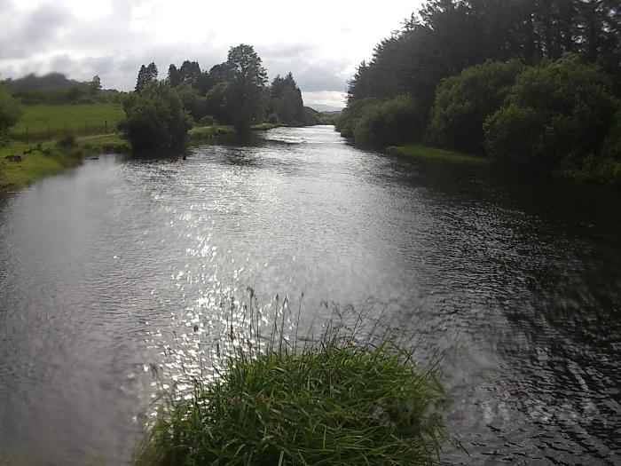Lough Allua finish stretch