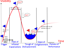 Marathon Swimming Hype cycle