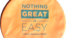 CS&PF Nothing Great Is Easy orange
