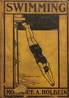 The cover of Holbein's Swimming Book, 1903