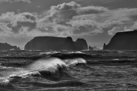Rough water on the Copper Coast