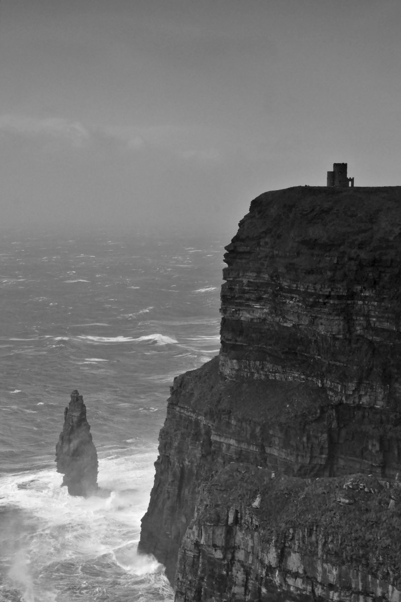 O'Brien's Tower on the Cliffs of Moher