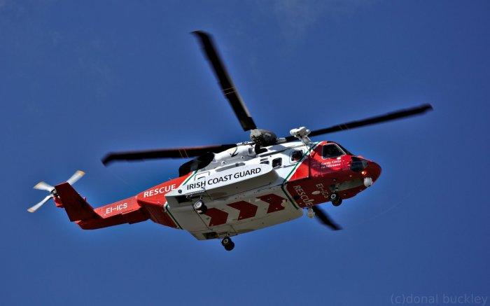 Irish Coast Guard Helicopter Rescue 117
